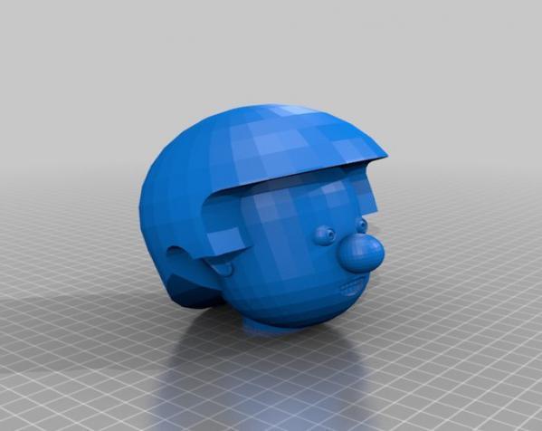 卡通人物头像 3D模型  图20