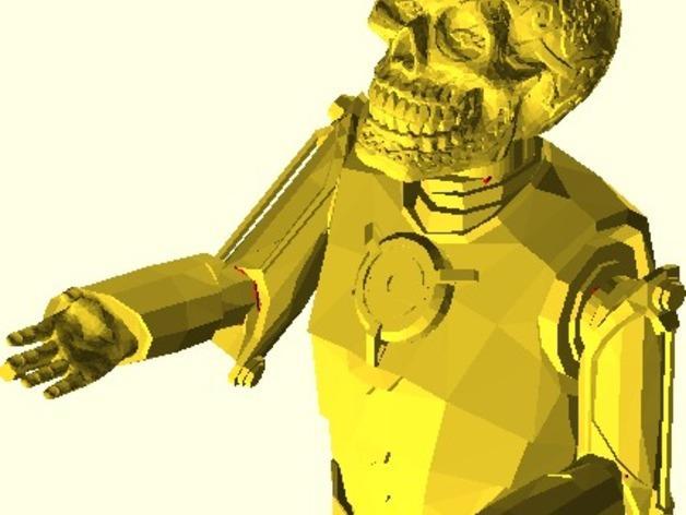仿真 人物小雕像 3D模型  图2