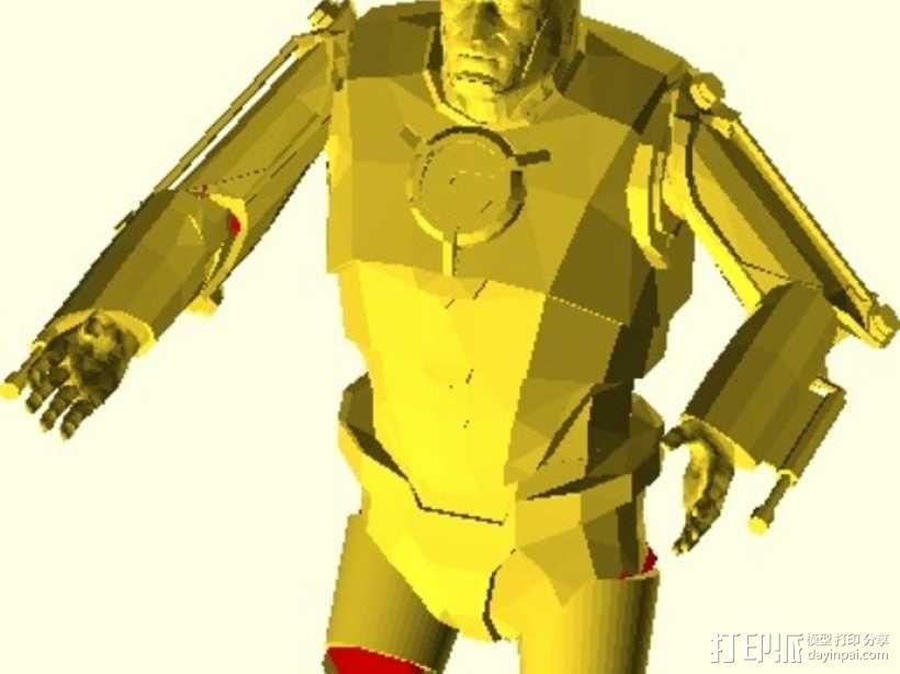 仿真 人物小雕像 3D模型  图1