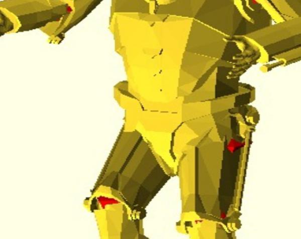 仿真 人物小雕像 3D模型  图4