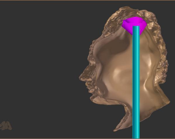 爱因斯坦头像 3D模型  图5