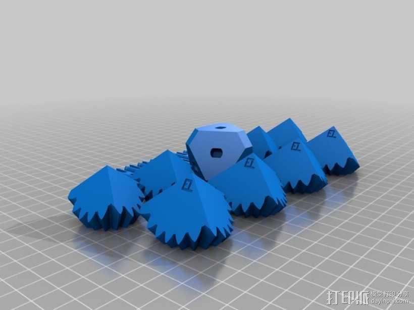齿轮方块 3D模型  图4