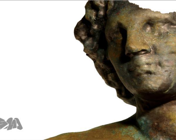 亚历山大大帝 半身像 3D模型  图2
