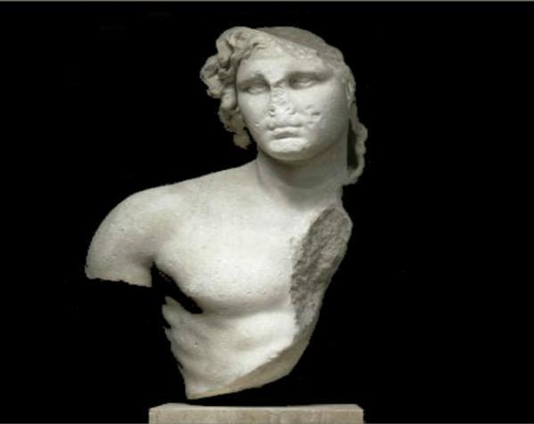 亚历山大大帝 半身像 3D模型  图6