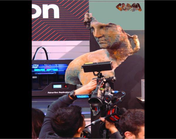 亚历山大大帝 半身像 3D模型  图8