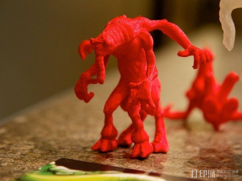 大象怪兽 3D模型  图4