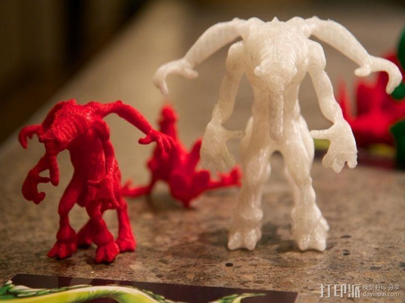 大象怪兽 3D模型  图3
