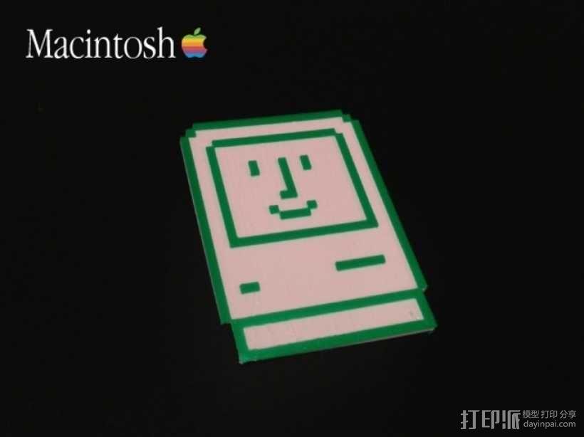 Macintosh苹果电脑 3D模型  图3