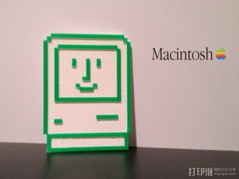 Macintosh苹果电脑 3D模型  图4