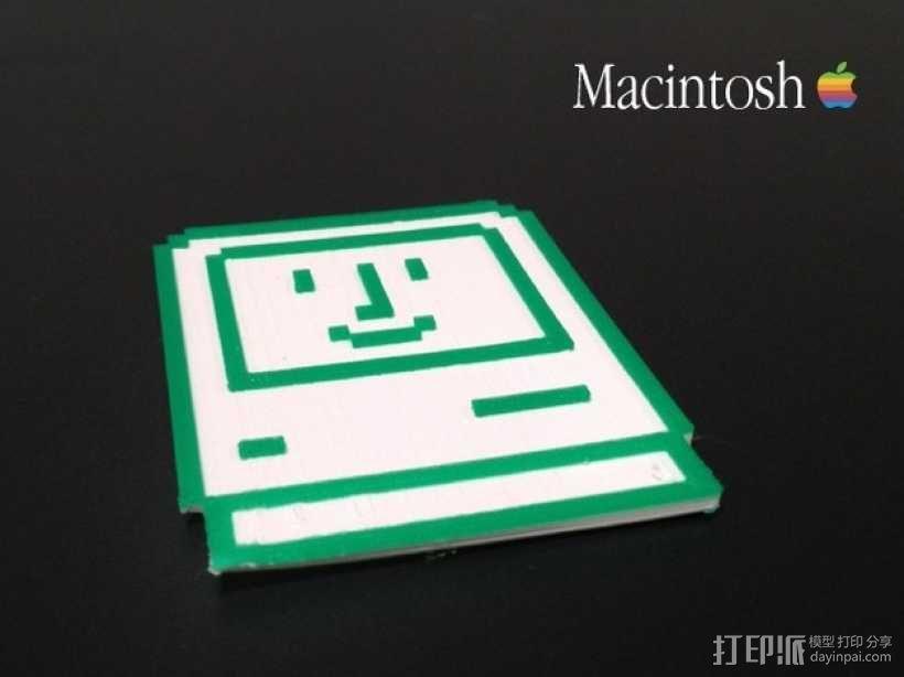 Macintosh苹果电脑 3D模型  图1