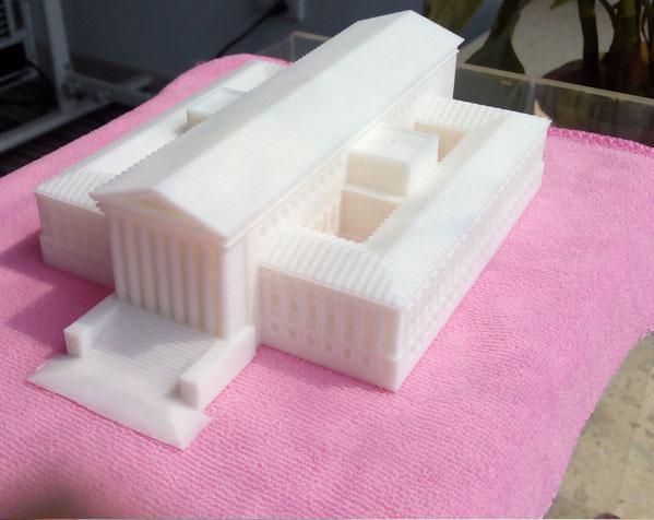 美国最高法院大厦 3D打印制作  图2
