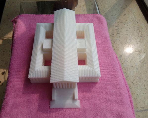 美国最高法院大厦 3D打印制作  图3