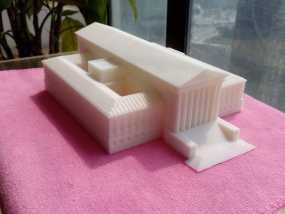 美国最高法院大厦 3D打印制作