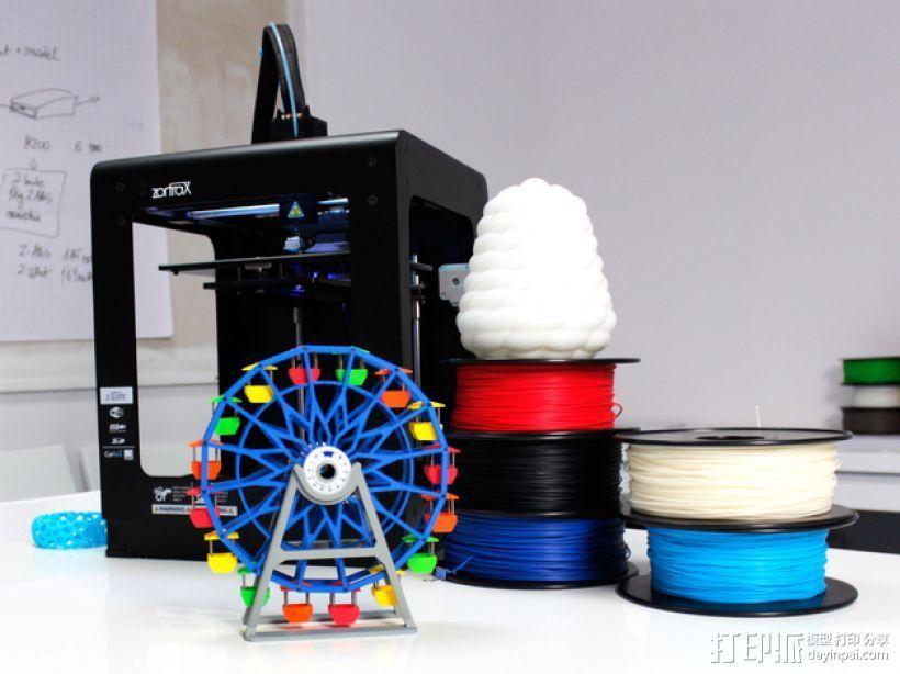 摩天轮 3D模型  图1