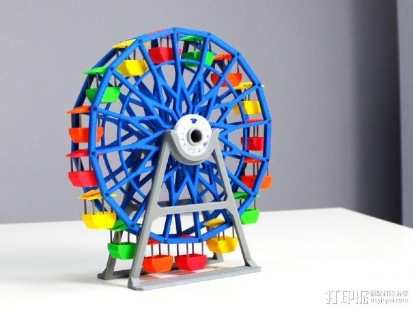 摩天轮 3D模型  图8