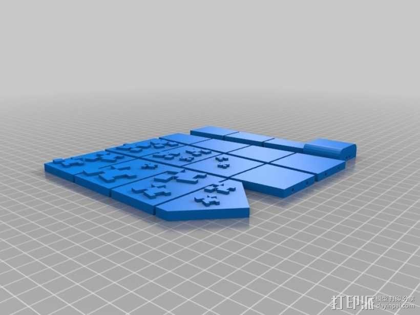 领带 3D模型  图4