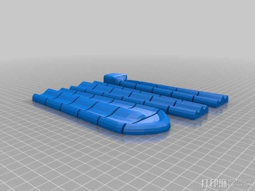 领带 3D模型  图5