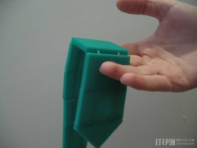 领带 3D模型  图1