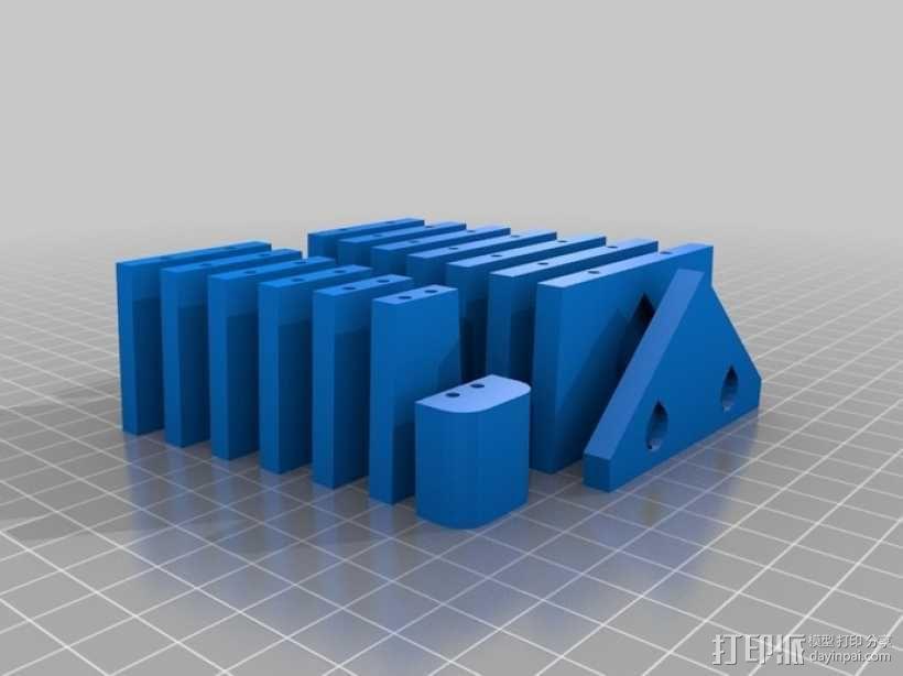 领带 3D模型  图3