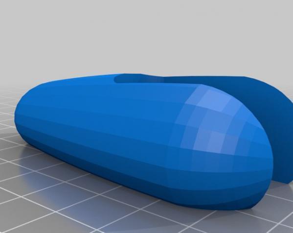 滚动蜗牛玩具 3D模型  图4