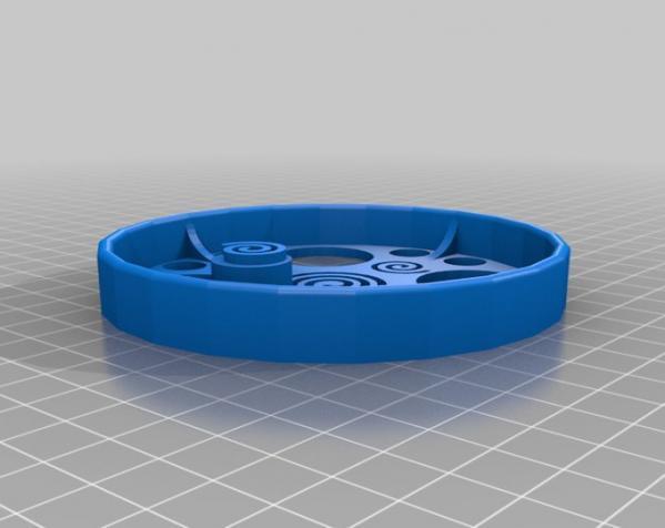 滚动蜗牛玩具 3D模型  图1