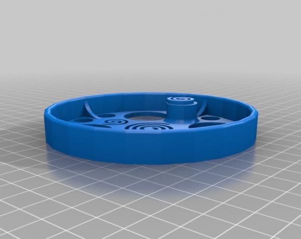 滚动蜗牛玩具 3D模型  图2