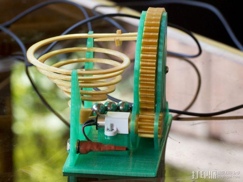 电动大理石机 3D模型  图4