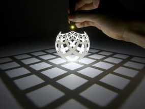 球面投影 3D模型