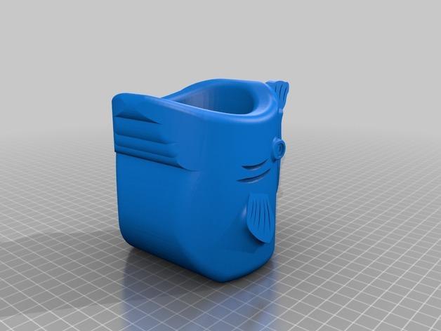 鱼杯 3D模型  图4