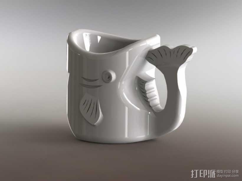 鱼杯 3D模型  图5