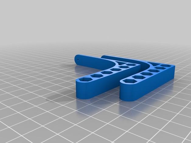 铅笔书架 3D模型  图3