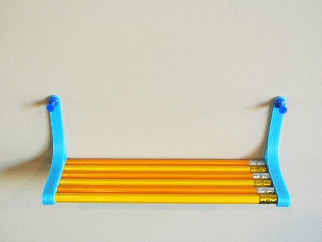 铅笔书架 3D模型  图2