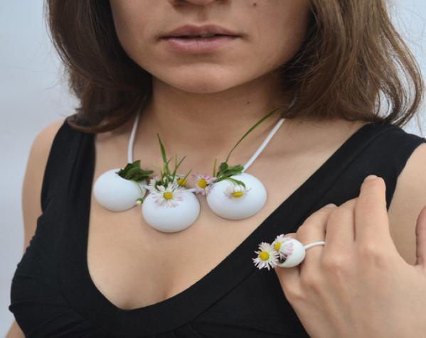 花盆项链 3D模型  图3