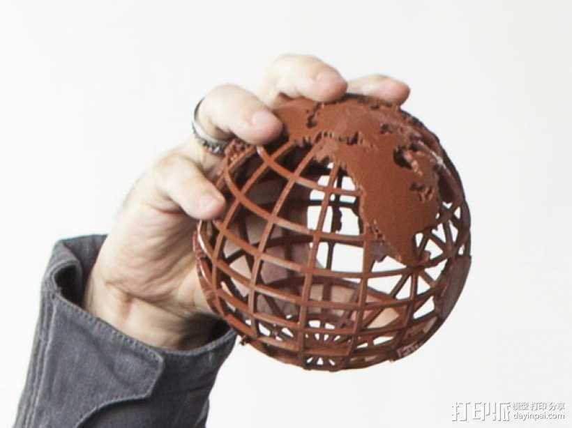 全球网格 3D模型  图2