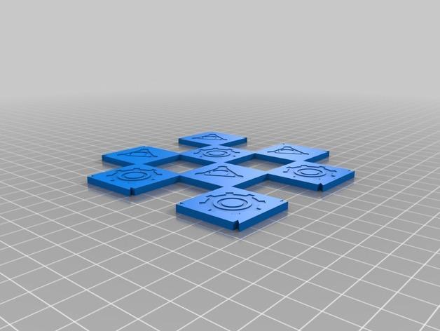 机器人与向导象棋组 3D模型  图2