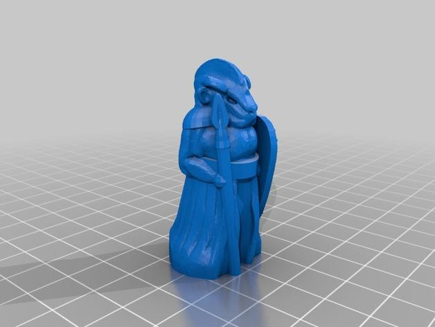 机器人与向导象棋组 3D模型  图3