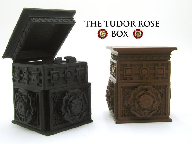 都铎王朝的玫瑰框(秘密锁) 3D模型  图1