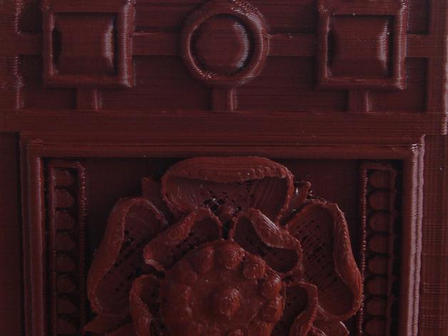 都铎王朝的玫瑰框(秘密锁) 3D模型  图6