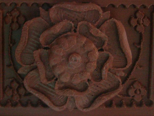 都铎王朝的玫瑰框(秘密锁) 3D模型  图5