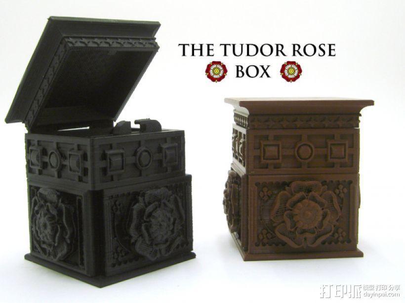 都铎王朝的玫瑰框(秘密锁) 3D模型  图8