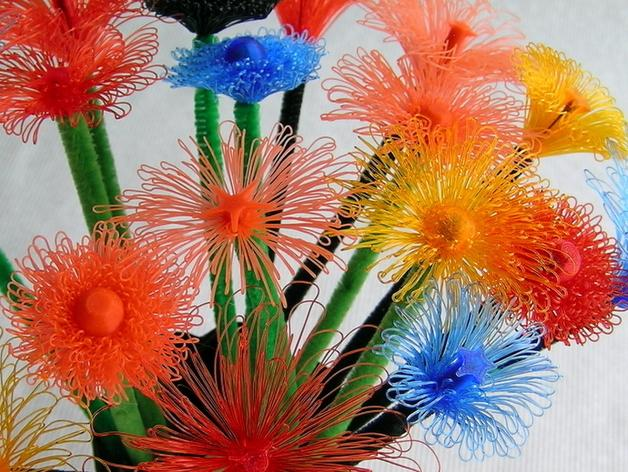 可制作花朵 3D模型  图2