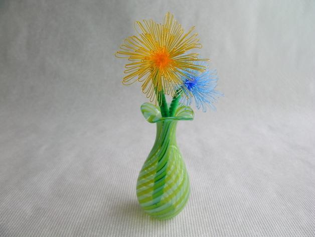 花朵 小绒花 3D模型  图3