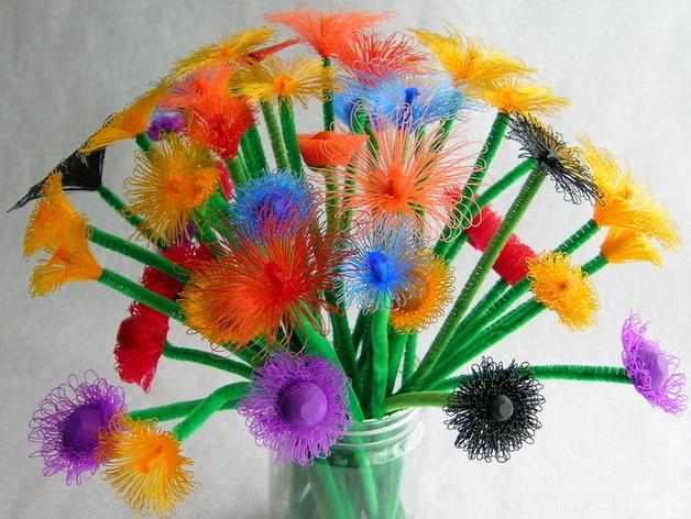 花朵 小绒花 3D模型  图2