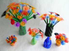 花朵 小绒花 3D模型