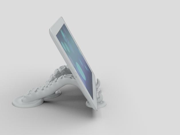 章鱼片站 3D模型  图3