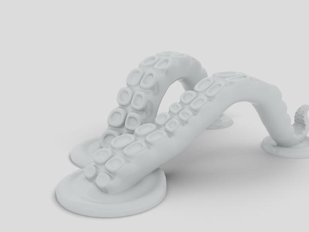 章鱼片站 3D模型  图5