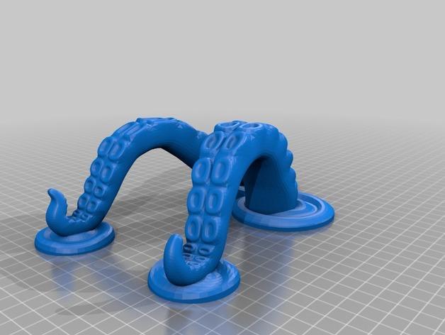 章鱼片站 3D模型  图7