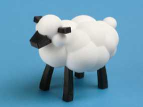 小棉羊 3D模型