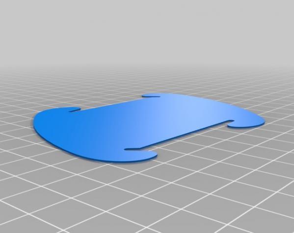 拼图灯罩 3D模型  图2
