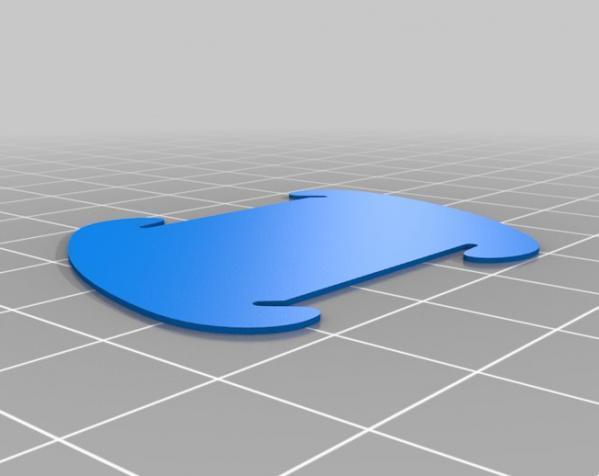 拼图灯罩 3D模型  图4